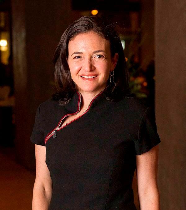 Sheryl Sandberg By Financial Times - Flickr , Facebook, CC BY 2.0 wikimedia